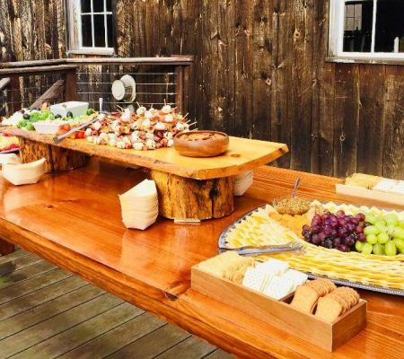 Rustic Hors d'oeuvres Board