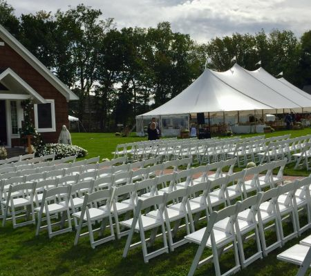 Residential Ceremony + tented Reception