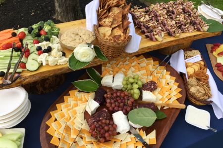 Rustic Board Hors d'o Display